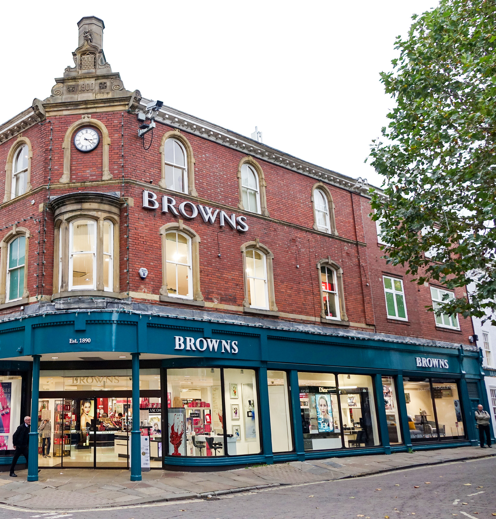 Browns department store in York