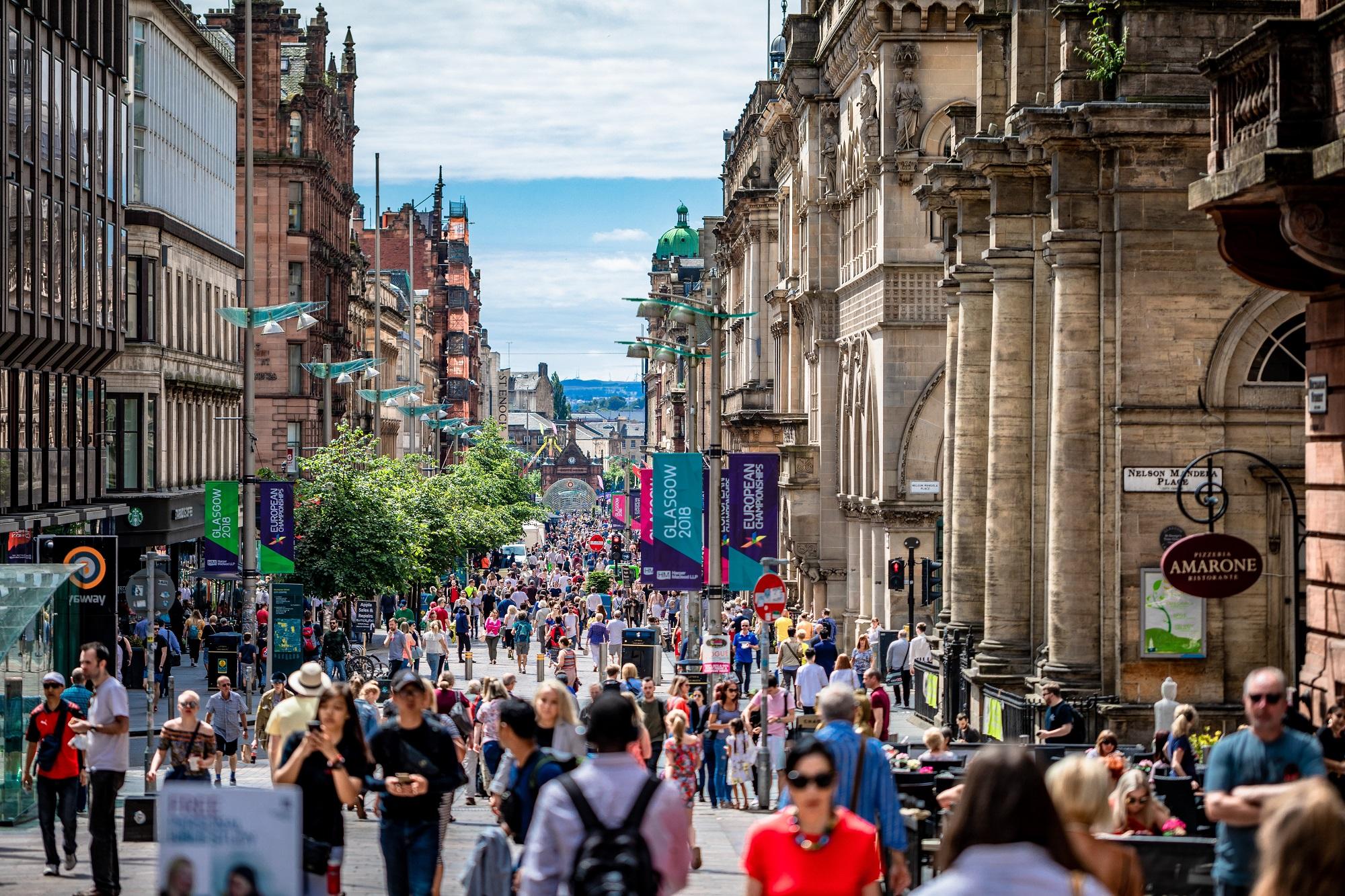 Retailers on the high streeta