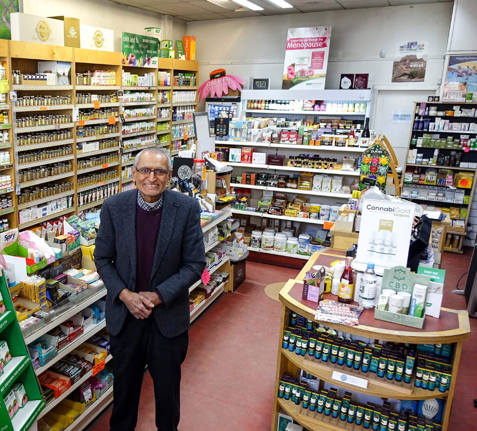Doing what come naturally to Dilip Kotecha of Quality Vitamins