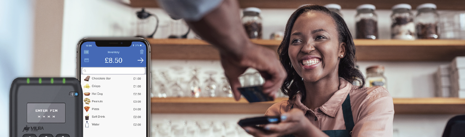 Accept payments on the go with Global Payments Mobile Pay