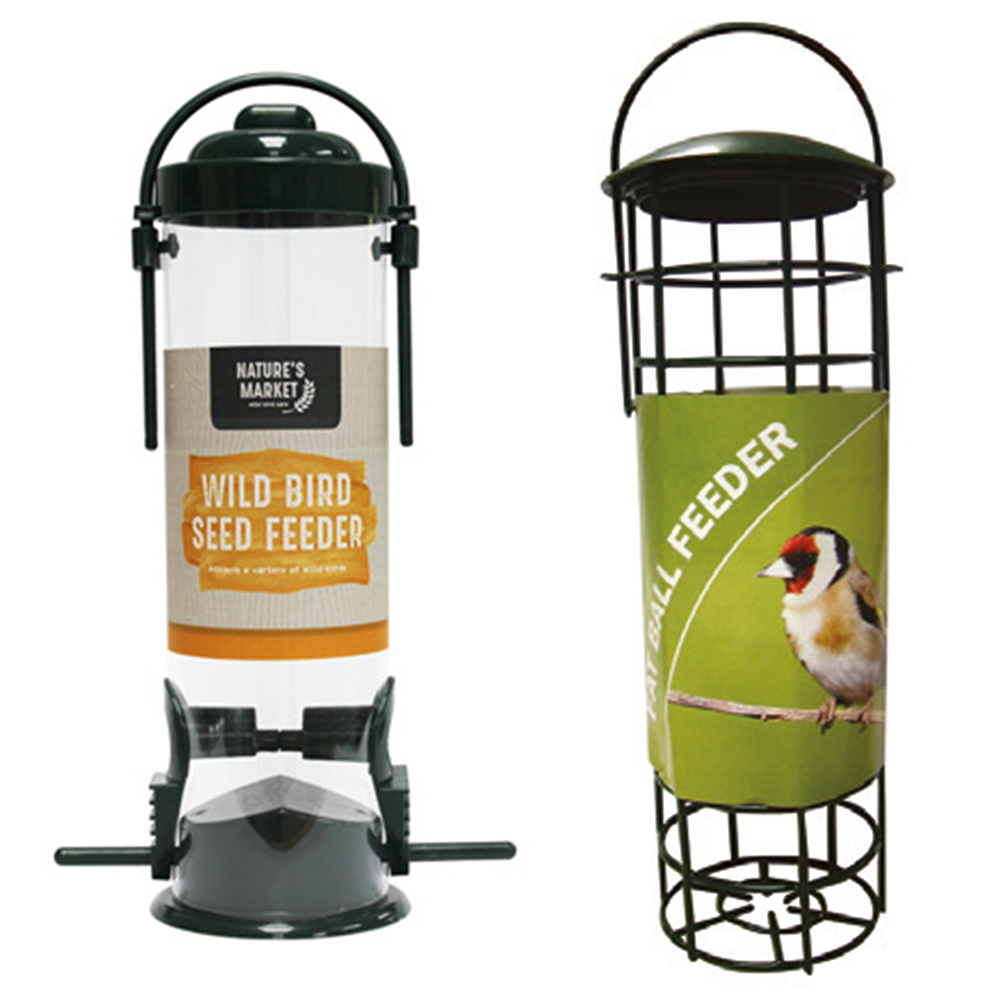 Natures Market Bird Feeders by Qualtex/Jegs