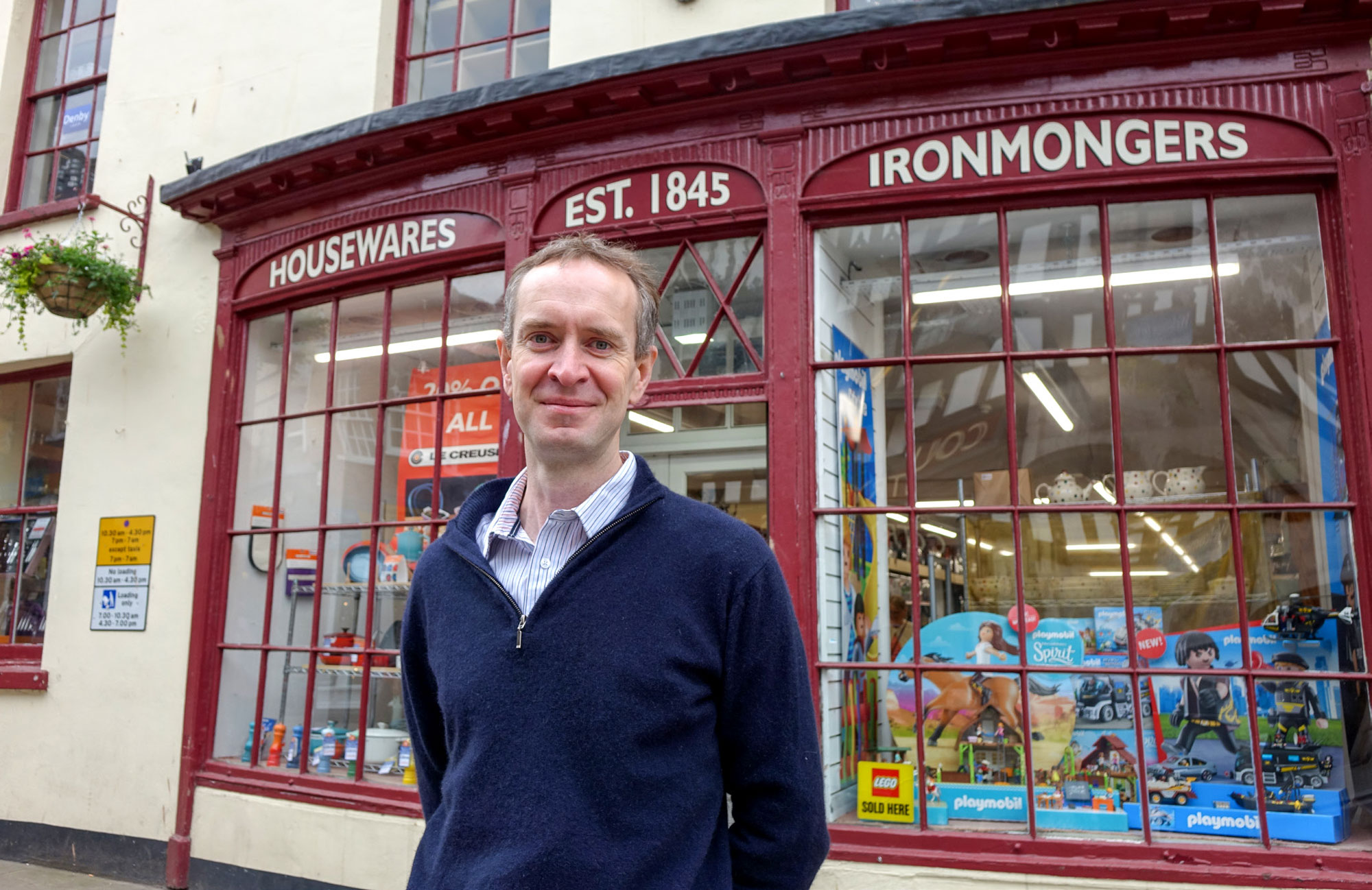 Philip Morris and Son independent retail shop