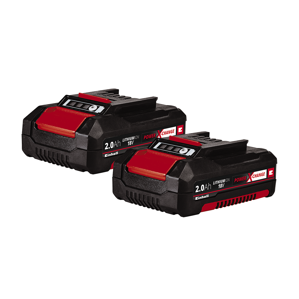 Power X-Change Twin Pack from Einhell