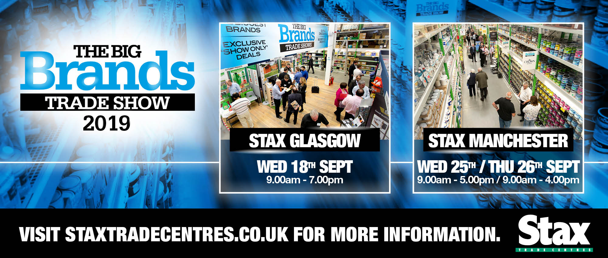 Stax Big Brand Event | Stax | Bira Direct