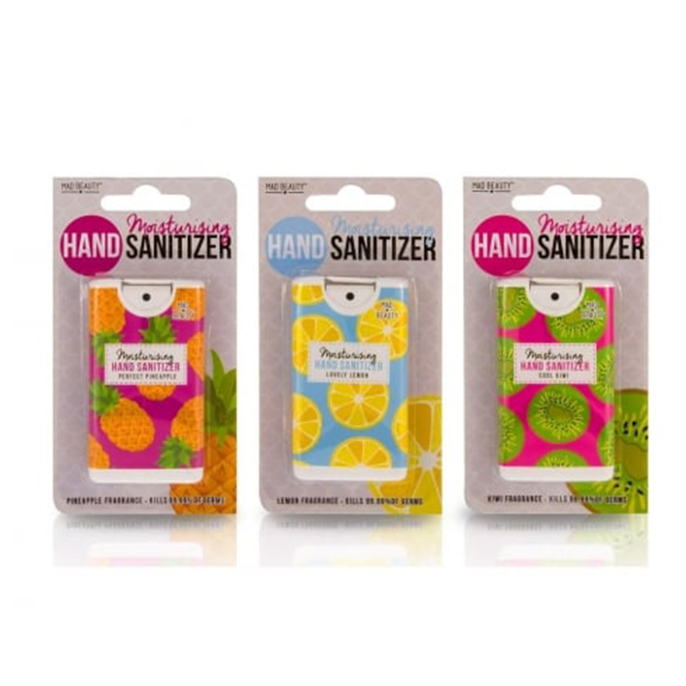 Hand Sanitizers from Mad Beauty