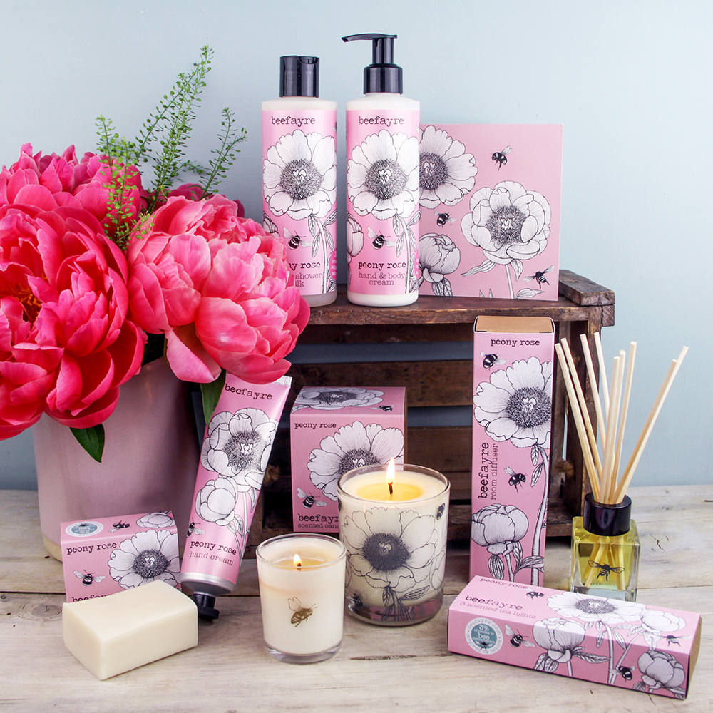Peony Rose Collection from Beefyre