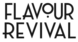 Le Creuset Flavour Revival Black and White Logo