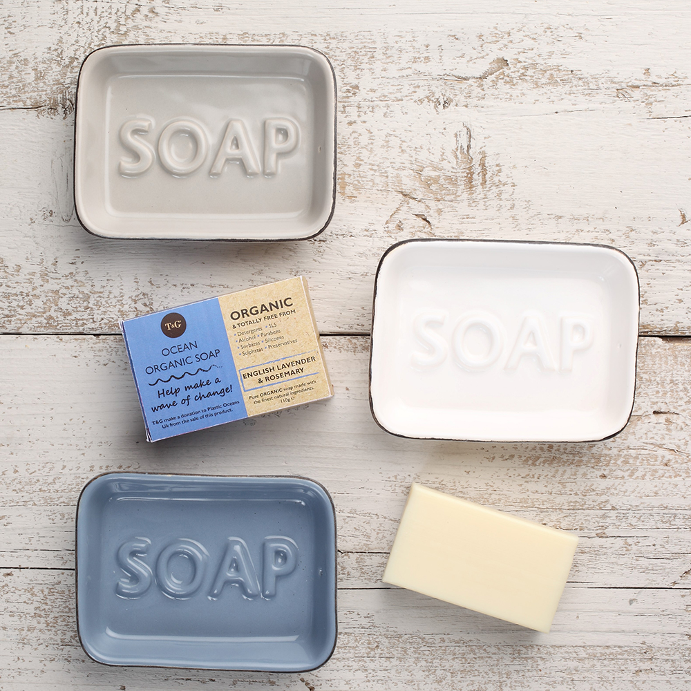 Soap Dishes & Organic Soap from T&G Woodware