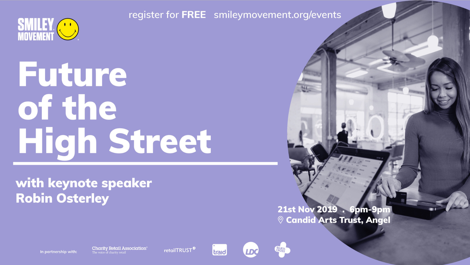 Future of the High Street talk hosted by Smiley Movement