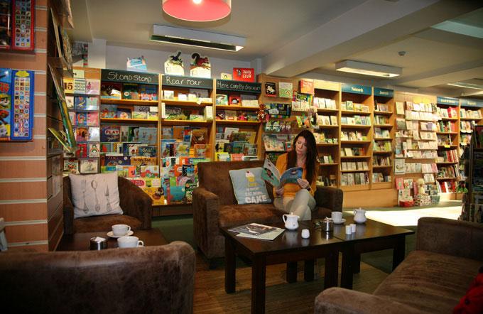 White Rose Books Café in Thirsk (Bira Member)