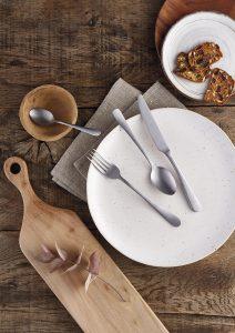 Fashion Cutlery - Stone - lifestyle Amefa Cloud Cart Bira Direct