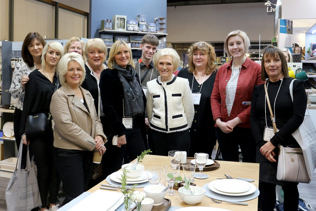Bira Members meet Mary Berry