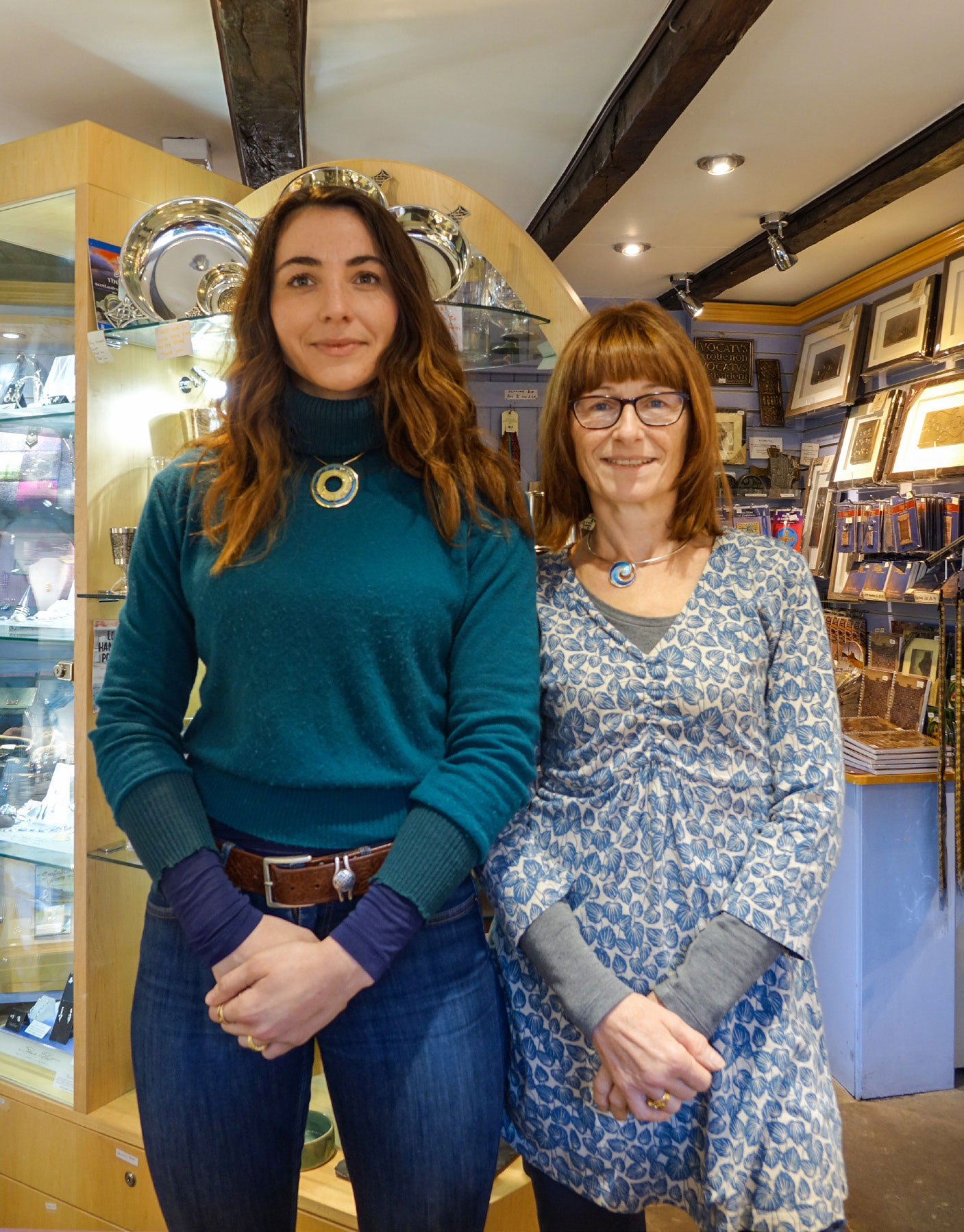 Independent shop Celtic Crafts in Lindisfarne