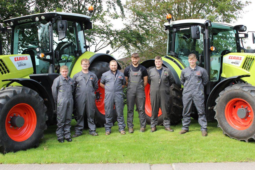 apprentices training