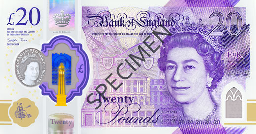 £20 note