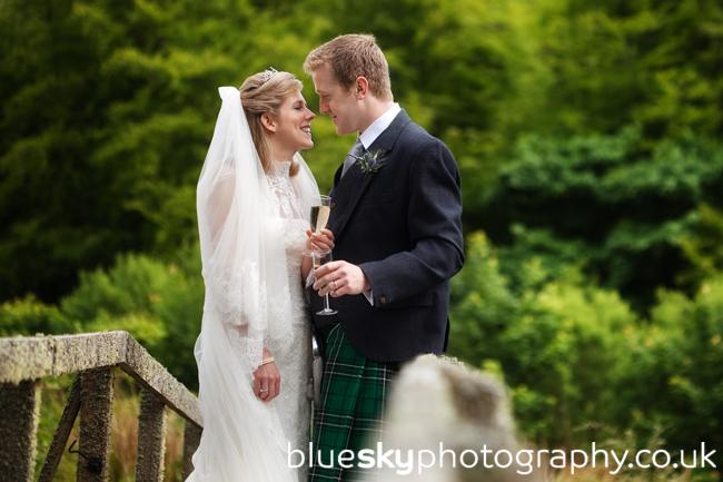 Rachael & Ian at Drumtochty Castle