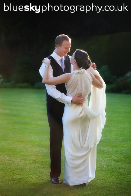 Rachel and Mark at Balbirnie House Hotel