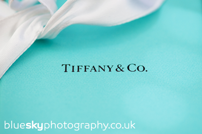 Tiffany boxes - a gift for the bridesmaids