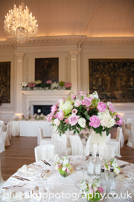 The ballroom at Hopetoun House