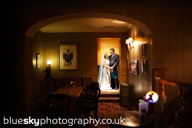 Sarah & Ian at Rufflets Country House Hotel, St Andrews