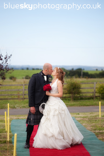 Sandra & Stuart at Burnock Mill Farm