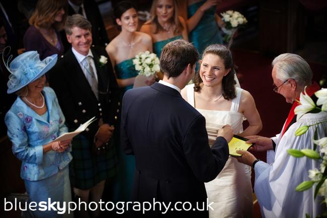 Claire & Josh's vows, Charlotte Chapel