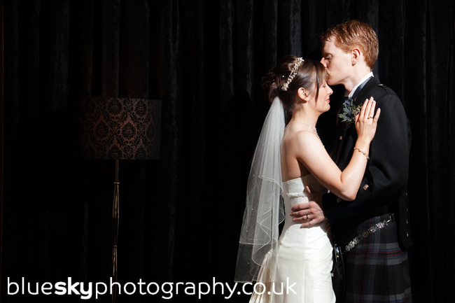 Dawn & Bryan at The Sherbrooke Castle Hotel, Glasgow