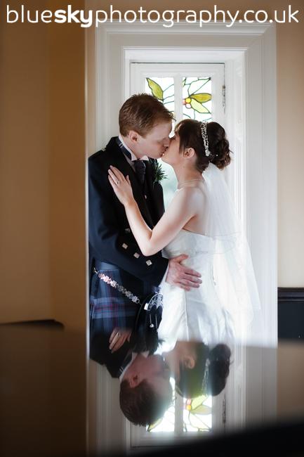 Dawn & Bryan at The Sherbrooke Castle Hotel, Glasgow