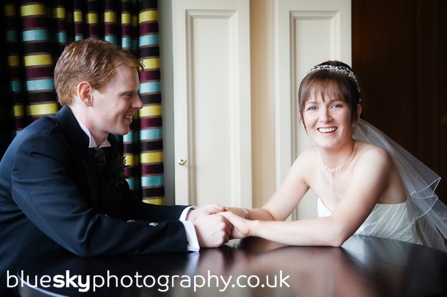 Dawn & Bryan at The Sherbrooke Castle Hotel