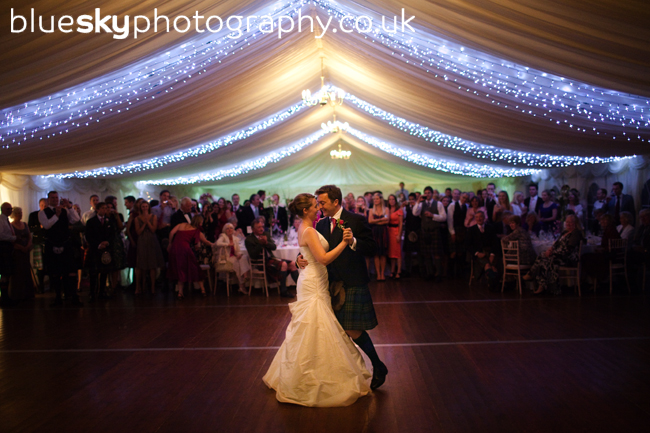 Robbie & Kirsty's first dance