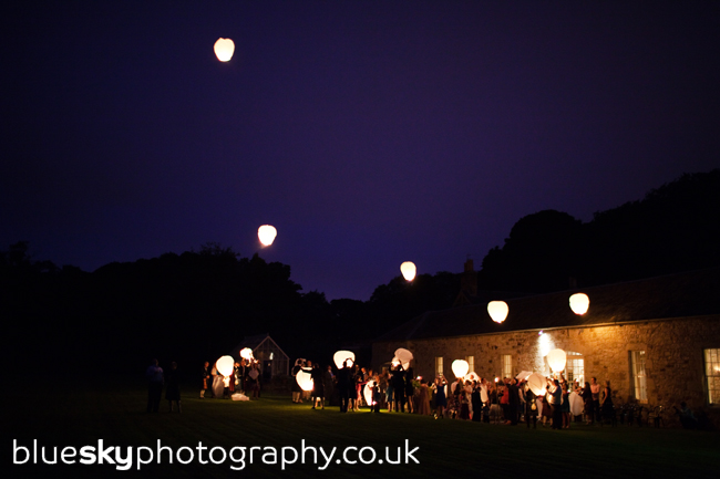 The Chinese Lanterns at Kirknewton Stables