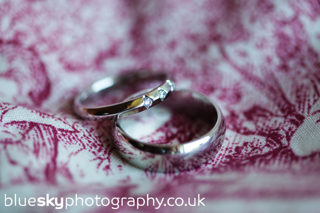 Lynsey & Matt's rings