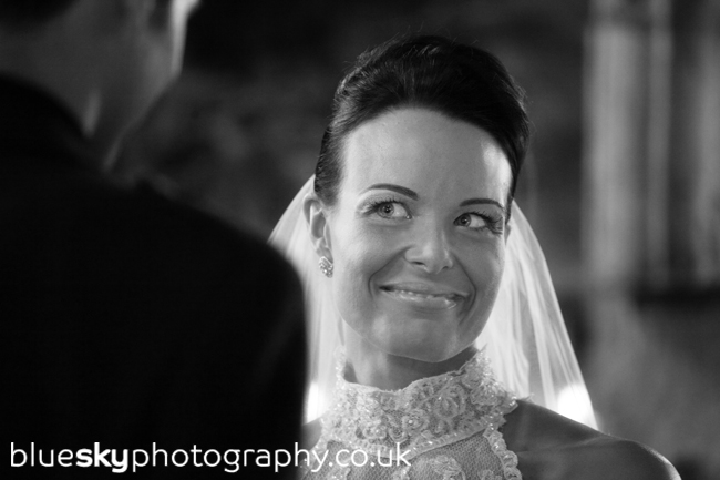 Lynsey & Matt's ceremony in The Keep at Dundas Castle, near Edinburgh