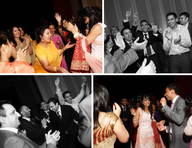 Dancing at Kiren & Sandeep's Engagement Party