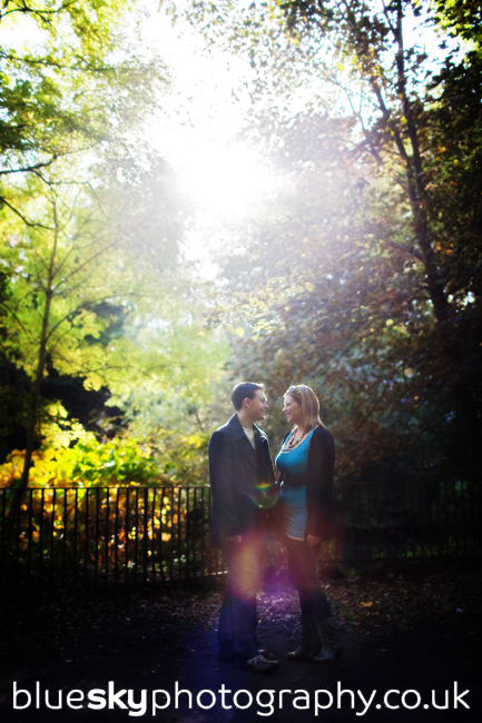Claire & Euan, by the River, Glasgow