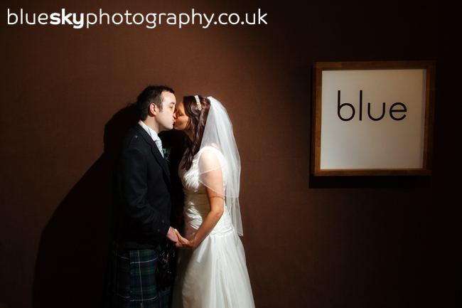 Kathryn & Robert at Blue, Edinburgh