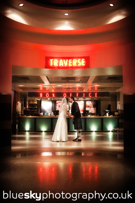 Kathryn & Robert at The Traverse Theatre, Edinburgh