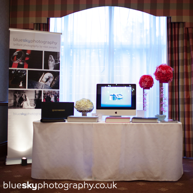 Blue Sky Photography's stand at The Norton House Hotel's Wedding Show