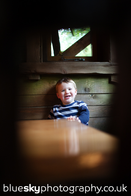 Jed at The Treehouse in Alnwick Gardens