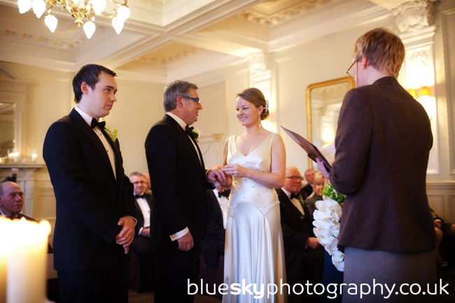 Amanda & Steve's ceremony, The Balmoral Hotel, Edinburgh