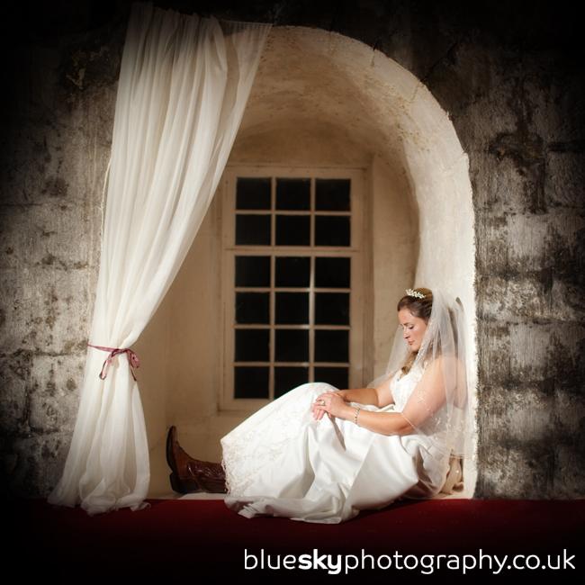 Alexi at Borthwick Castle
