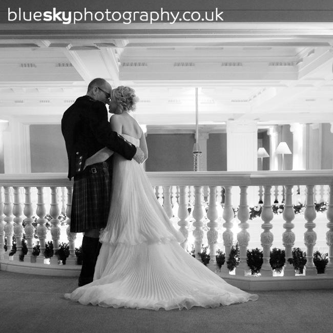 Wendy & Alan's wedding at the Balmoral Hotel, Edinburgh