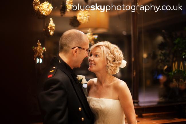 Wendy & Alan at The Balmoral Hotel, Edinburgh