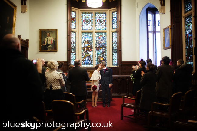 Jennie & Brandon's ceremony at the Old Council Chambers, Perth