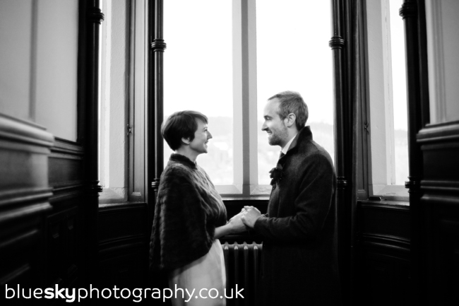 Jennie & Brandon in The Old Council Chambers, Perth