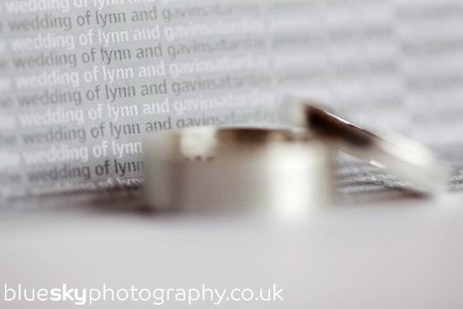Lynn & Gavin's rings