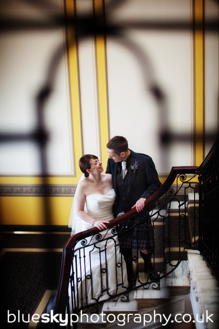 Joanne & Brian at Gleneagles Hotel
