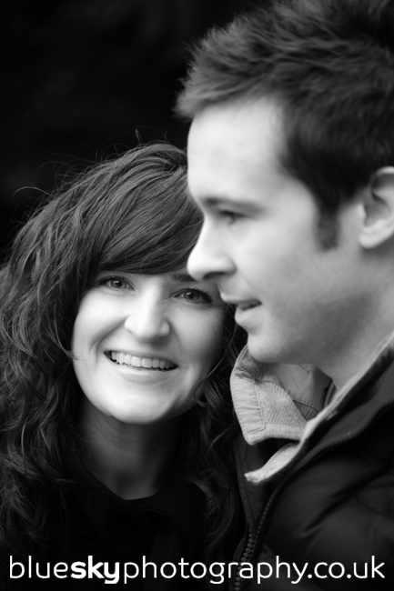 Katie & John in The Botanic Gardens, Edinburgh