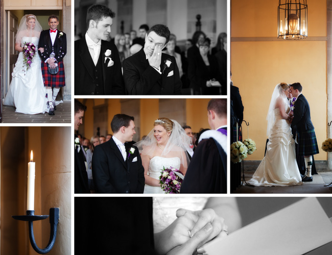 Claire & Euan's Ceremony in The Stables, Hopetoun House