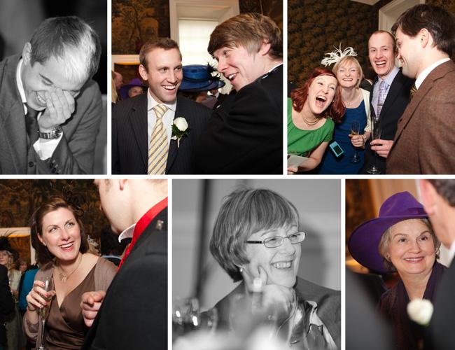 Claire & Euan's wedding celebration at Hopetoun House